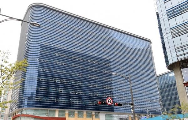 경기 성남 판교 삼성전자 건설부문 본사가 있는 알파돔시티 2동 전경 모습. 사진= 뉴시스
