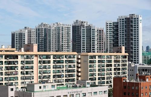 서울시내 한 아파트 단지(사진=뉴시스)