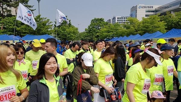 2019년 한국노총 노동절 마라톤대회