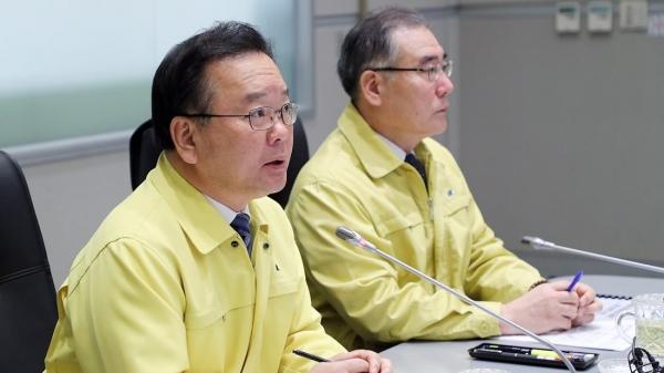 행정안전부 장관 시절 김부겸 의원