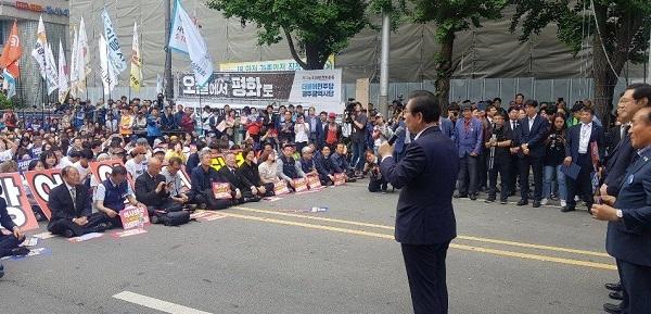 발언하는 박원순 서울시장