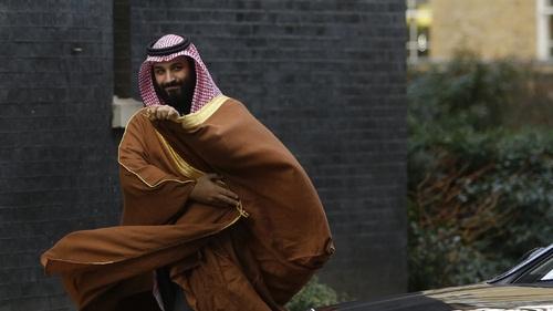 지난해 영국을 방문한 사우디 아라비아의 무함마드 빈 살만 왕세자 / 사진 AP/뉴시스