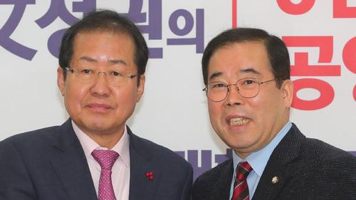박성중 의원은 자유한국당을 탈당했다 지난 대선에서 홍준표 후보를 지지하면 복당했다. / 사진 뉴시스