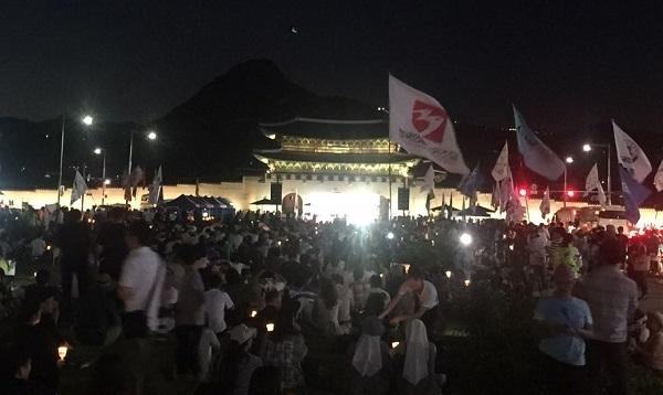 제6차 아베규탄 촛불문화제