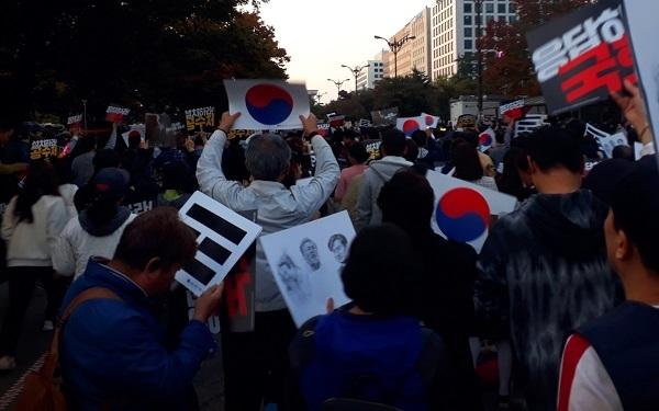 국회 앞 제10차 검찰개혁 촛불문화제