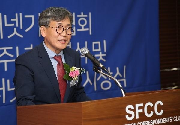 김철관 한국인터넷기자협회장이다.