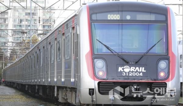 코레일 차량기지에 열차가 서있다. Ⓒ뉴시스