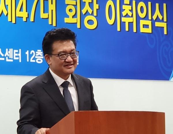 한국기자협회 김동훈 신임회장