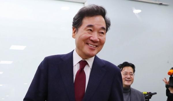 이낙연 전 국무총리가 23일 서울 종로 출마를 공식적으로 밝혔다.Ⓒ뉴시스