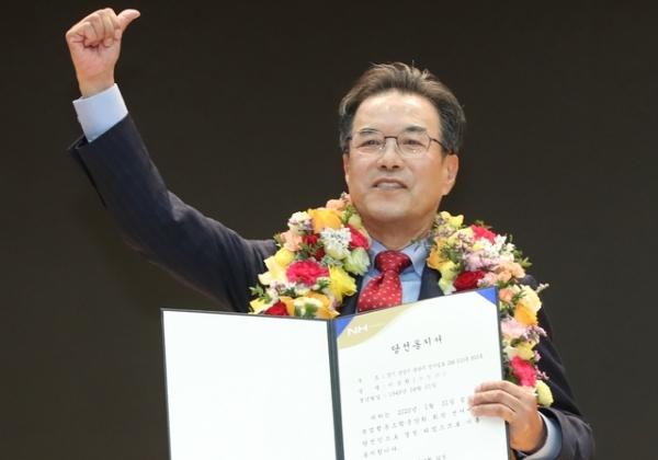 제24대 농협중앙회장에 이성희 전 성남 낙생조합장이 당선됐다.Ⓒ뉴시스
