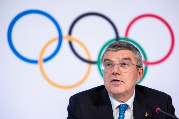 토마스 바흐 국제올림픽위원회(IOC) 위원장. ⓒ뉴시스/AP