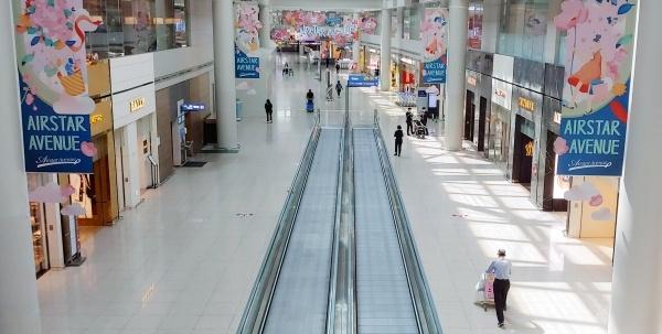 지난 24일 인천공항 제1터미널의 한산한 모습. ⓒ뉴시스